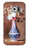 Flowers in a Vase Galaxy S6 Case by Jean-Baptiste Simeon Chardin