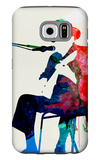 Johnny Lee Hooker Watercolor Galaxy S6 Case by Lora Feldman