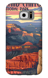 Grand Canyon National Park - Mather Point Galaxy S6 Case by  Lantern Press