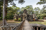 Ruins of the Chau Say Tevoda Temple, Angkor, UNESCO World Heritage Site, Cambodia, Indochina Photographic Print by Yadid Levy