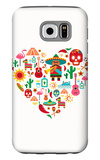 Mexico Love - Heart With Set Ofs Galaxy S6 Case by  Marish