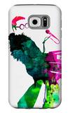 Elton Watercolor Galaxy S6 Case by Lora Feldman