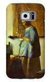 The Letter Reader Galaxy S6 Case by Jan Vermeer