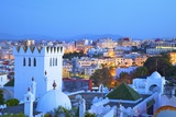 View over Kasbah to Tangier, Tangier, Morocco, North Africa, Africa Photographic Print by Neil Farrin