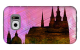 Prague City Skyline Galaxy S6 Case by  NaxArt