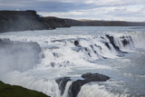Gullfoss Waterfall, Golden Circle, Iceland, Polar Regions Photographic Print by Yadid Levy