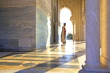 Royal Guard on Duty at Mausoleum of Mohammed V, Rabat, Morocco, North Africa, Africa Photographic Print by Neil Farrin