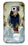 The Virgin with Angels Galaxy S6 Case by William Adolphe Bouguereau