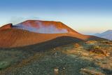 Smoking 700M Wide Crater of Volcan Telica in the North West Volcano Chain Photographic Print by Rob Francis