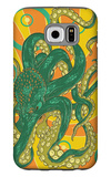 Kraken Galaxy S6 Case by  Lantern Press