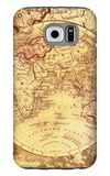 Vintage Map Eastern Galaxy S6 Case by Malcolm Watson