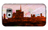 Milan City Skyline Galaxy S6 Case by  NaxArt