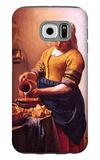 Milk Maid Galaxy S6 Case by Jan Vermeer