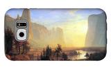 Yosemite Valley Galaxy S6 Case by Albert Bierstadt