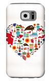 Spain Love Galaxy S6 Case by  Marish