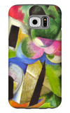 House with Trees Galaxy S6 Case by Franz Marc