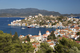 View of Harbour, Kastellorizo (Meis), Dodecanese, Greek Islands, Greece, Europe Photographic Print by Stuart Black