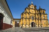 Mexican-Style Baroque Facade of the Iglesia De La Recoleccion Church Built in 1786 Photographic Print by Rob Francis