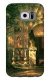 Sunlight and Shadow Galaxy S6 Case by Albert Bierstadt