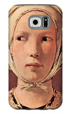 Woman's Head Frontally Galaxy S6 Case by Georges de La Tour