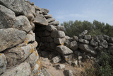 Nuraghe Tuttusoni, One of the Nuraghic Ruins in the Province of Gallura, Sardinia, Italy Photographic Print by Ethel Davies