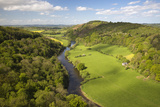 View over Wye Valley from Symonds Yat Rock Photographic Print by Stuart Black