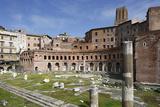 Ruins of Trajan's Market, Trajan Forum (Foro Traiano), Rome, Lazio, Italy Photographic Print by Stuart Black