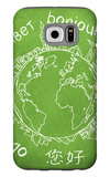 Say Hello Around The World. Hello Translated In A Few International Languages Galaxy S6 Case by Viorel Sima