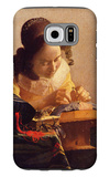 The Lacemaker Galaxy S6 Case by Jan Vermeer