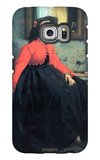 Portrait of Mme. L.L. Galaxy S6 Edge Case by James Tissot