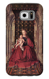 The Virgin and Child Galaxy S6 Case by Jan Van Eyck