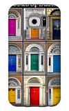 The Old Georgian Doors Of Dublin Galaxy S6 Case by Domenico Matteo