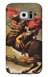 Napoleon Crossing the Alps Galaxy S6 Case by Jacques-Louis David