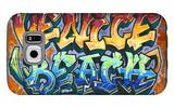 Venice Beach, California - Graffiti Galaxy S6 Case by  Lantern Press
