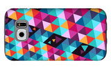 Trendy Hipster Geometric Elements Galaxy S6 Case by  cienpies
