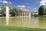 Opera House, Eckensee Lake, Schlosspark, Stuttgart, Baden-Wurttemberg, Germany Photographic Print by Markus Lange