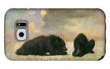 Grizzly Bears Galaxy S6 Case by Albert Bierstadt