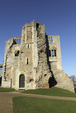 The Norman Gateway and Staircase Tower at the Ruins of Newark Castle in Newark-Upon-Trent Photographic Print by Stuart Forster