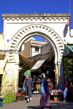 Gate to Medina, Tangier, Morocco, North Africa, Africa Photographic Print by Neil Farrin