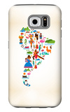 South America Love Galaxy S6 Case by  Marish