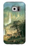 Cho-looke, the Yosemite Fall Galaxy S6 Case by Albert Bierstadt