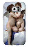 First Kiss Galaxy S6 Case by William Adolphe Bouguereau