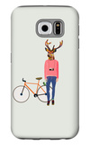 Fashionable Hipster Deer Galaxy S6 Case by  run4it