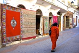 Carpet Shop, the Medina, Rabat, Morocco, North Africa, Africa Photographic Print by Neil Farrin