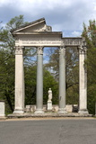 Roman Column and Lintel Structure, Villa Borghese Park, Rome, Lazio, Italy Photographic Print by James Emmerson