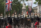 Detachment of Mounted Guard in the Mall En Route to Trooping of the Colour Photographic Print by James Emmerson