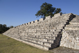Nohochna (Large House), Edzna, Mayan Archaeological Site, Campeche, Mexico, North America Photographic Print by Richard Maschmeyer