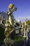 Petrodvorets (Peterhof) (Summer Palace), Near St. Petersburg, Russia Photographic Print by Gavin Hellier