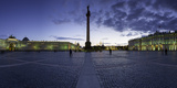 Palace Square, Alexander Column and the Hermitage, Winter Palace, St. Petersburg, Russia Photographic Print by Gavin Hellier