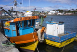 Tthe Fishing Harbour of Ancud, Island of Chiloe, Chile, South America Photographic Print by Peter Groenendijk